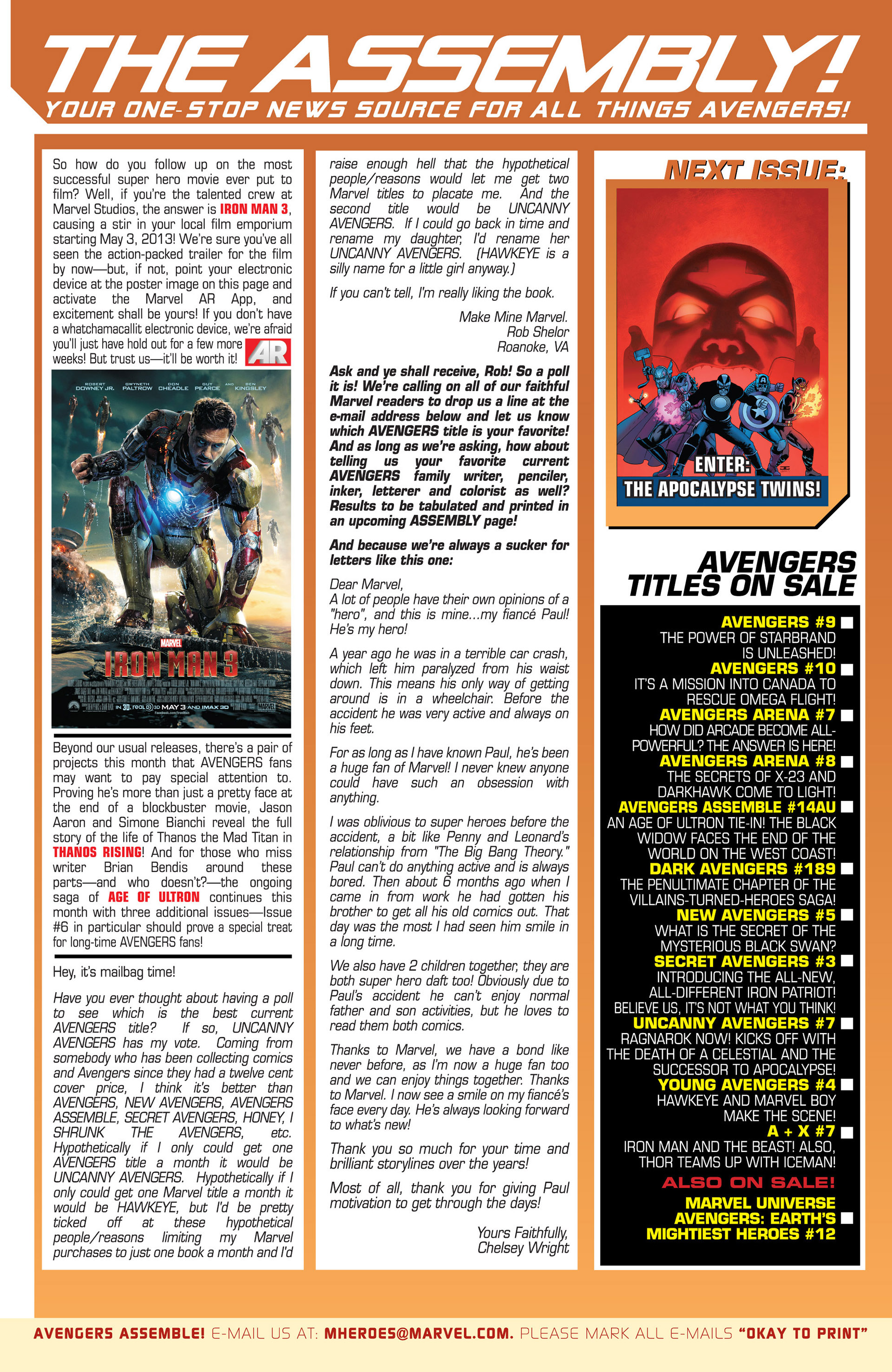 Read online Uncanny Avengers (2012) comic -  Issue #6 - 22