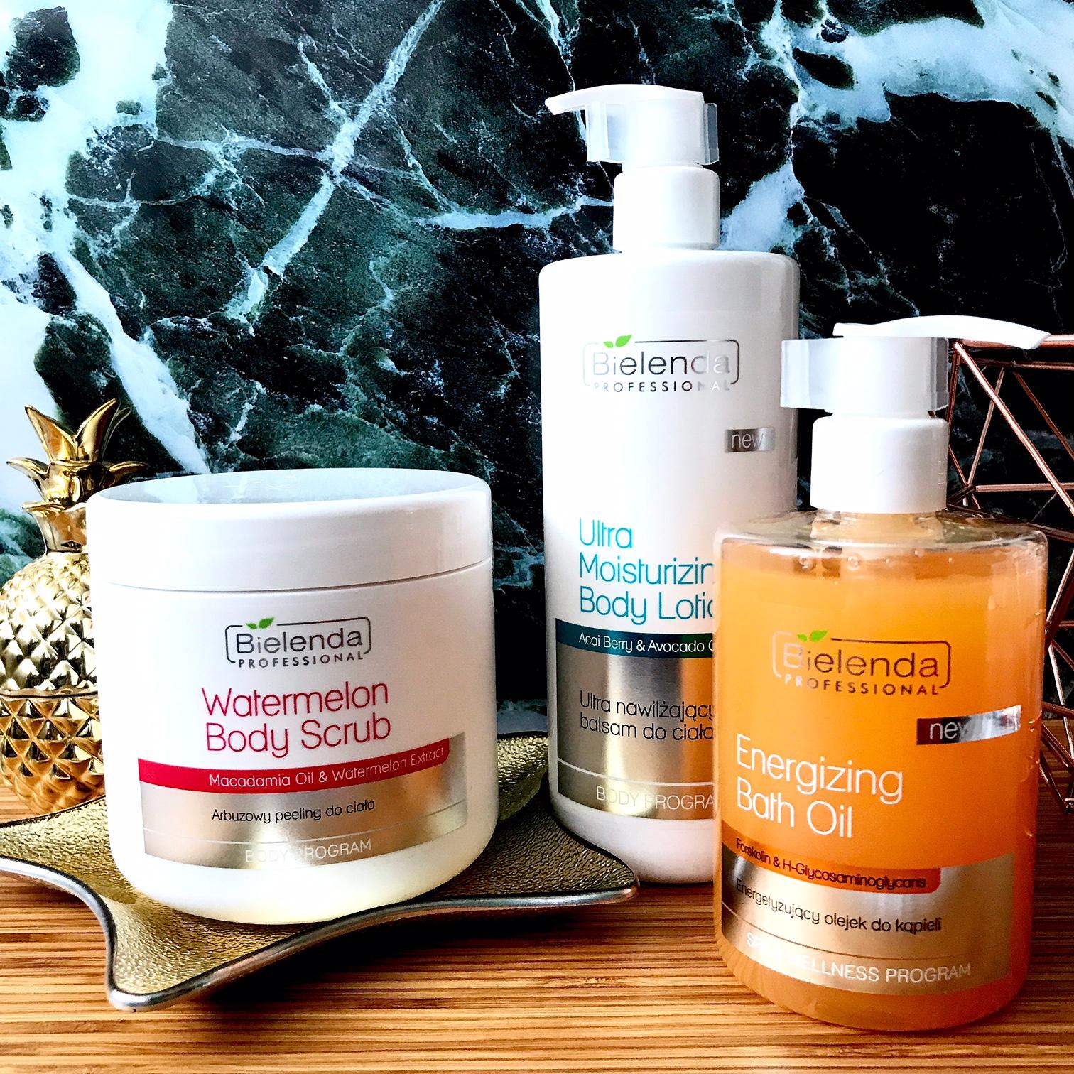 zdjęcie przedstawiające produkty do pielęgnacji ciała Bielenda Professional