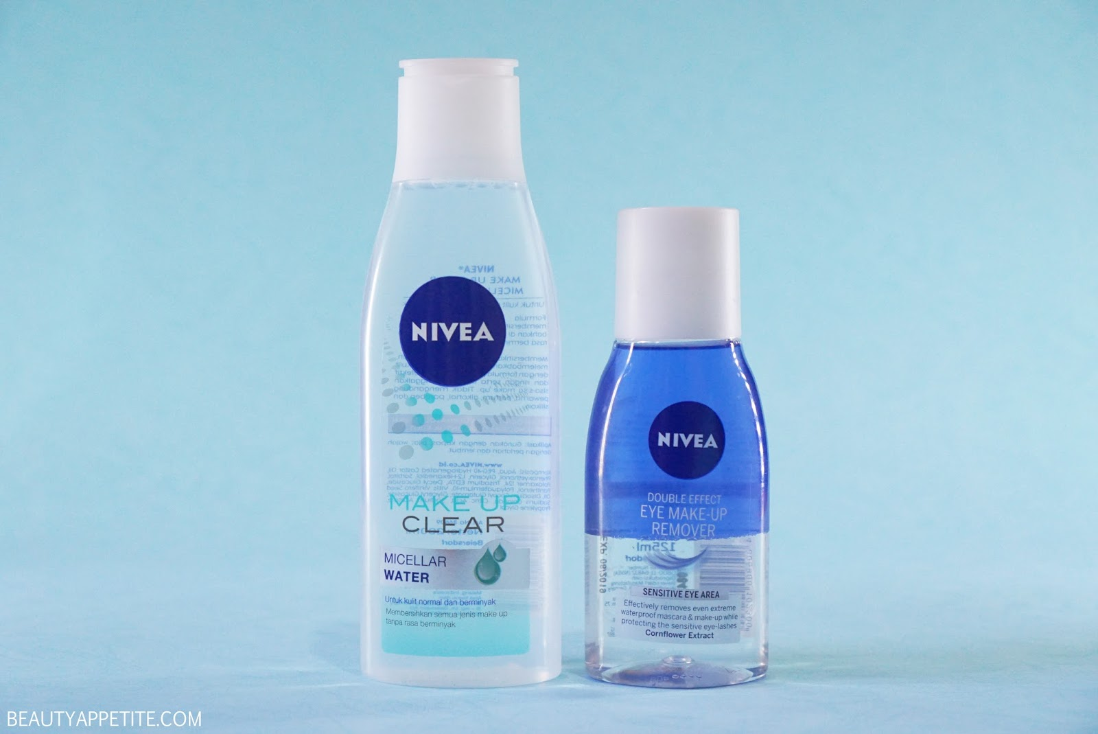 nivea double effect eye make up remover review beauty. Black Bedroom Furniture Sets. Home Design Ideas