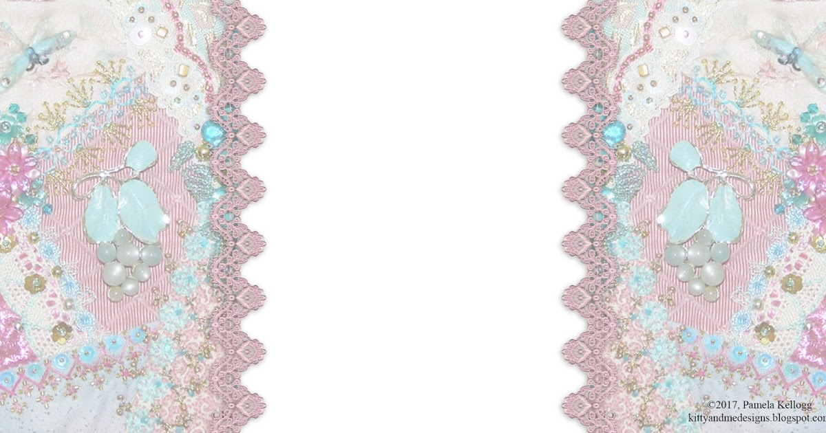 Kitty And Me Designs Free Crazy Quilt Blog Background