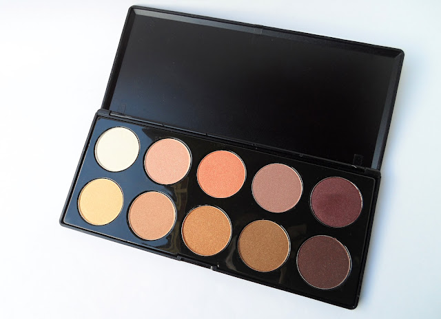 liz breygel blogger eye shadow palette bps review