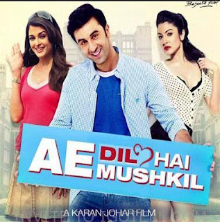 Ae Dil Hai Mushkil (2016) Subtitle Indonesia BluRay