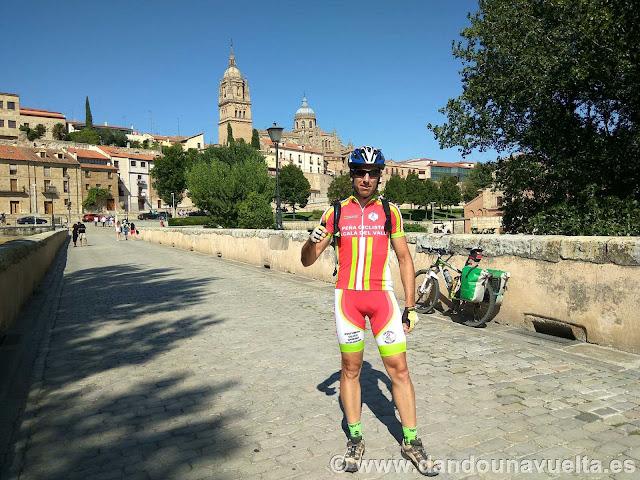 En Salamanca, cuando realicé la Vía de la Plata en 2.017