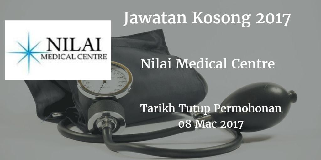 Jawatan Kosong Nilai Medical Centre 08 Mac 2017