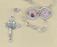 Relic locket rosaries & more at the Mystics Gift Store