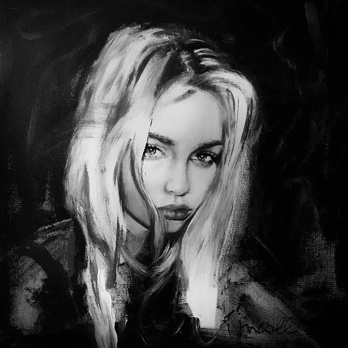 Французский художник. Julia Nicole