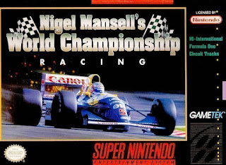 Nigel Mansell World Championship [ SNES ]