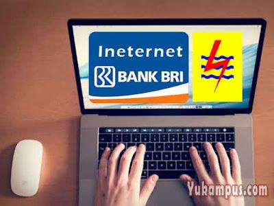 cara beli token listrik internet banking bri