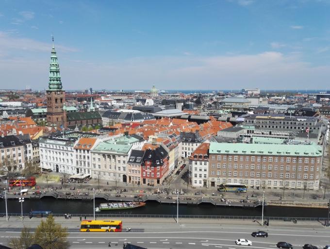 Kööpenhaminan ilmainen näköalapaikka