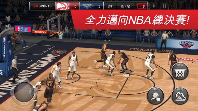 NBA LIVE Mobile: 勁爆美國職籃 App
