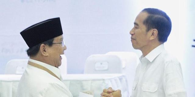 Jelang Debat , Tim Jokowi Klaim Prabowo Bukan Lawan Sebanding