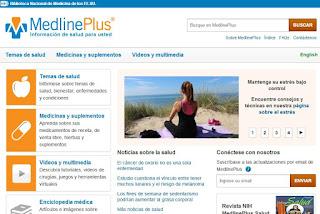 Ir a la web Medicine Plus en español