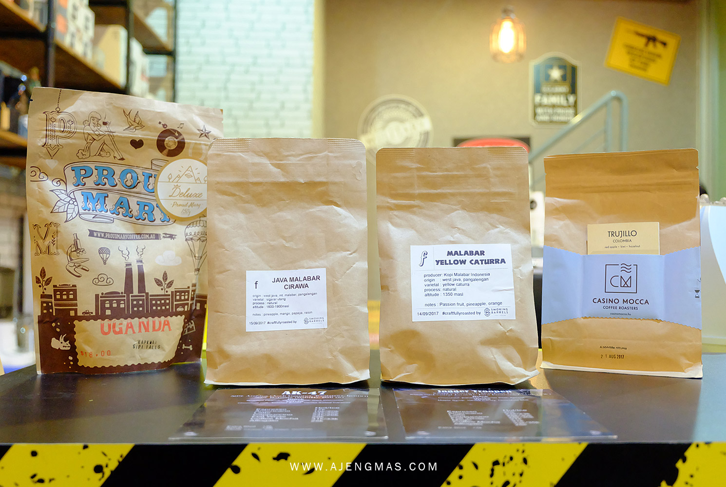 review-caliber-coffee-shop-jogja-butik-commando-chapter