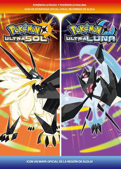 Pokémon UltraSol y Pokémon UltraLuna tendrán una guía de estrategia oficial este noviembre
