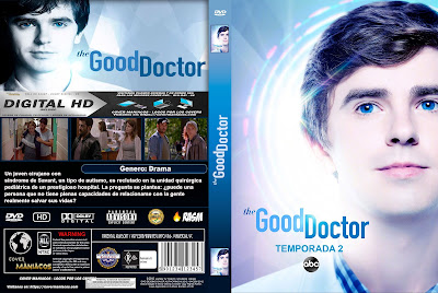 CARATULA THE GOOD DOCTOR - TEMPORADA 2 - 2018 [COVER DVD]