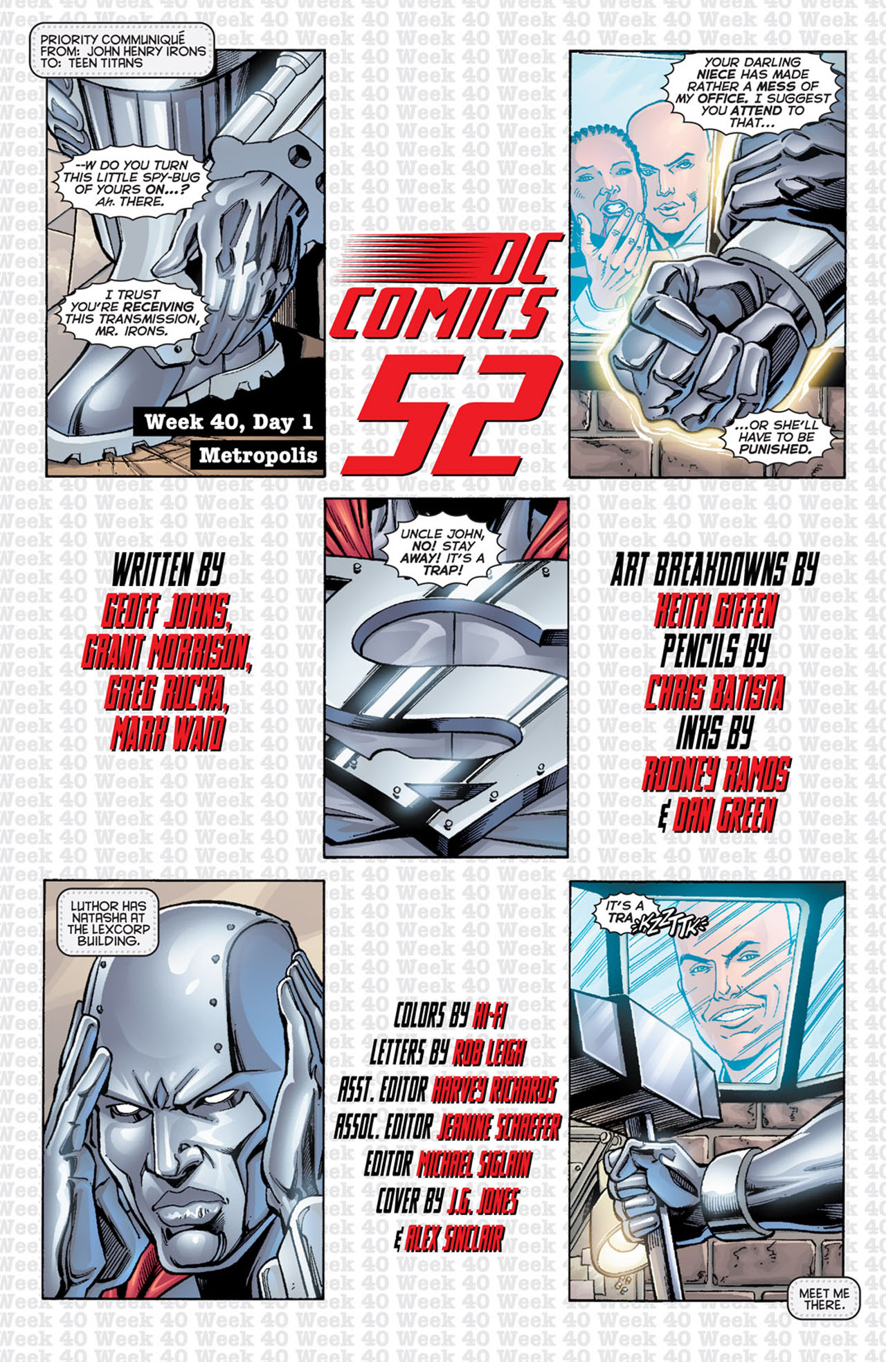 Read online 52 comic -  Issue #40 - 3