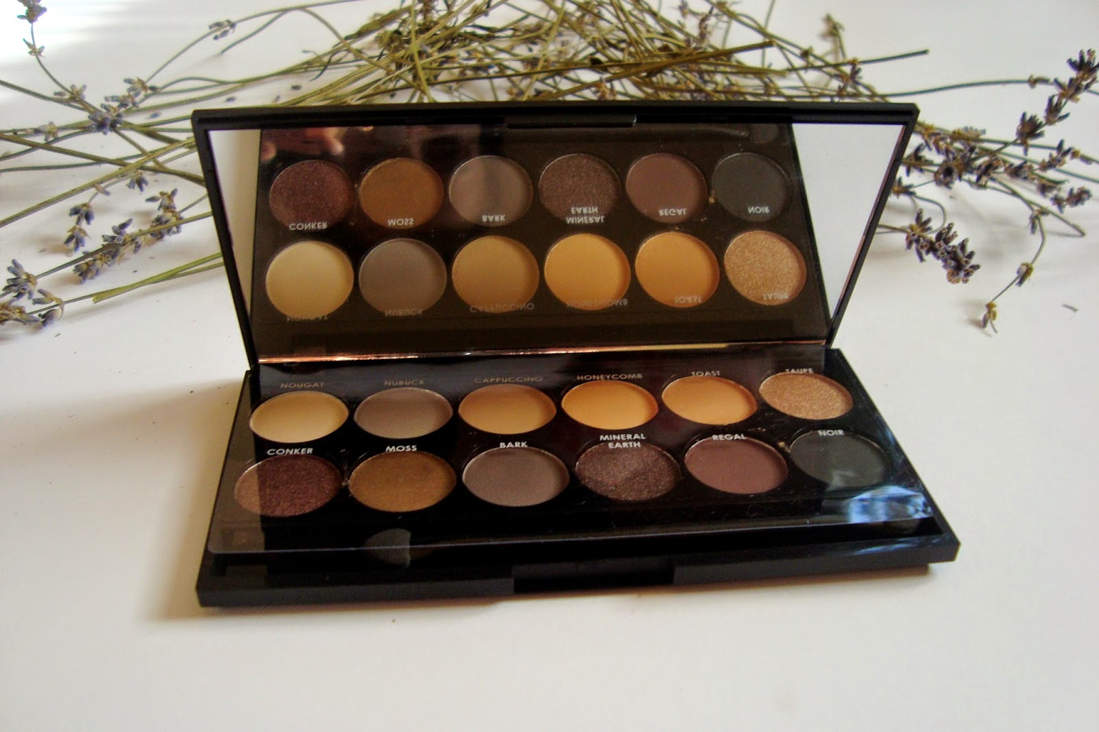 Sleek Ay Naturel Palette review