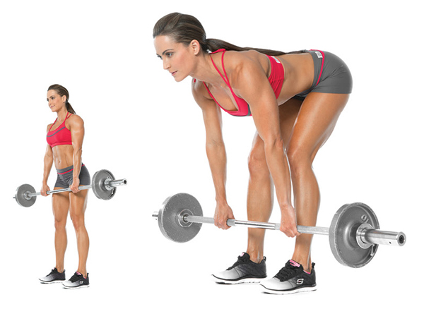 Performing Deadlift