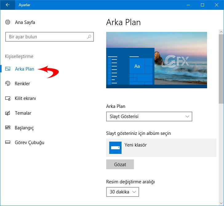 windows arka plan kaydetme - ceofix.com