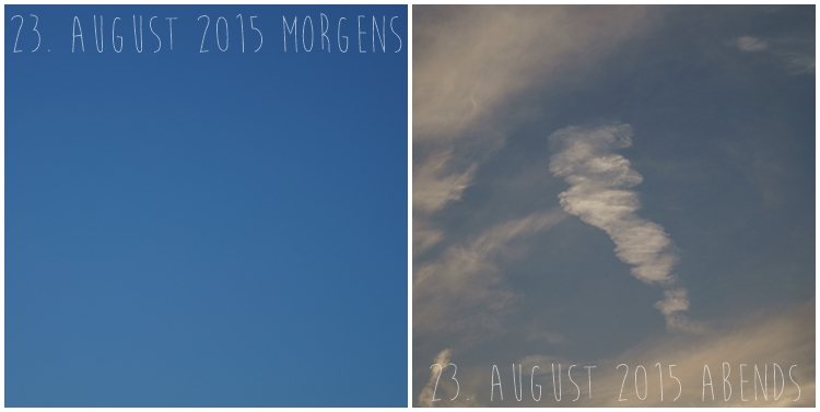 Blog & Fotografie by it's me! - Himmel am 23. August 2015