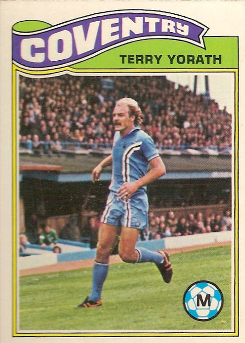 ORANGE BACK 1978 TOPPS-FOOTBALL -#003- COVENTRY BARRY POWELL