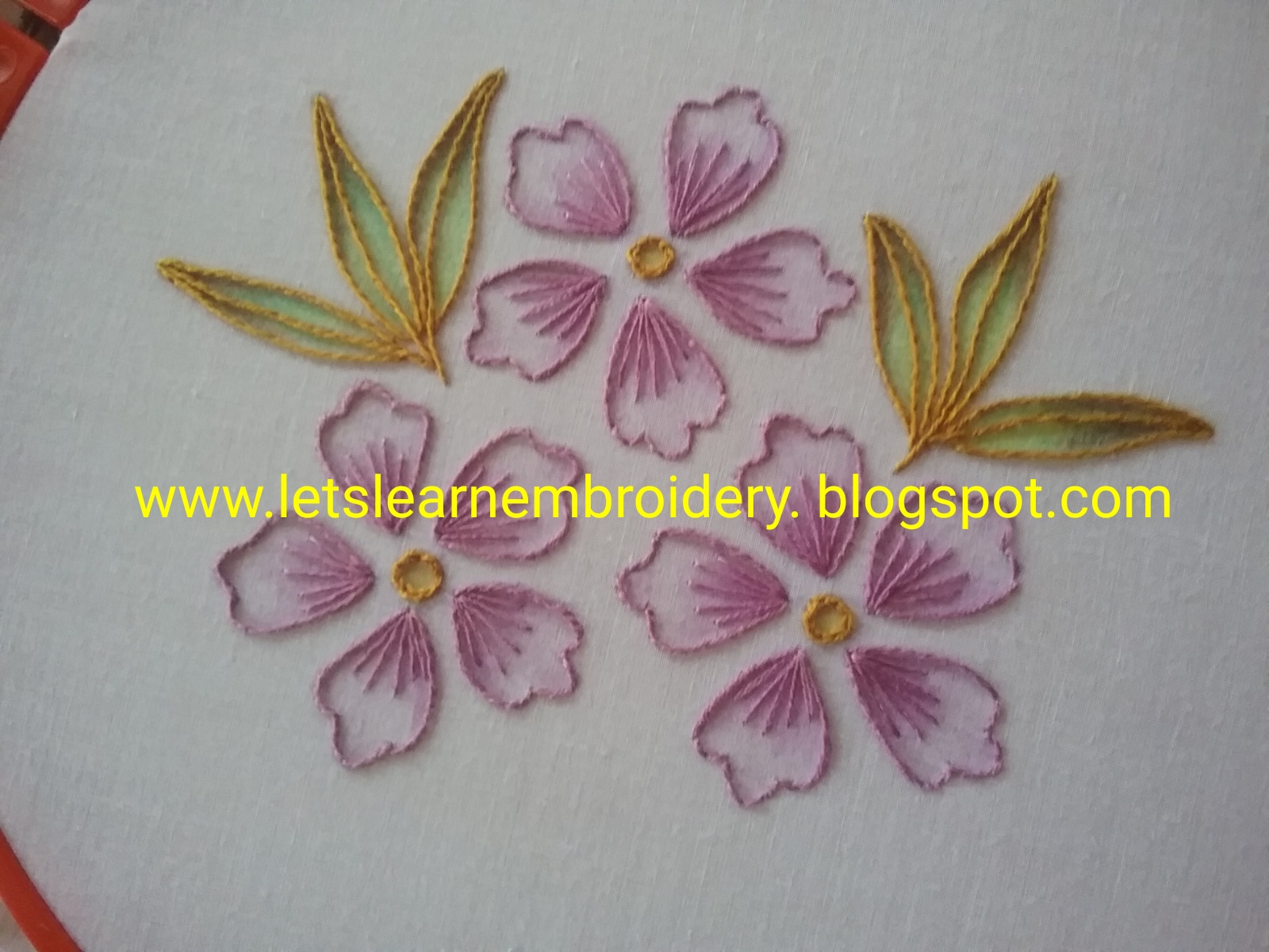 Lets Learn Embroidery