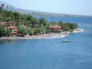 Visitindonesia; Amed Beach, An Outstanding Tourist Goal Inward Bali