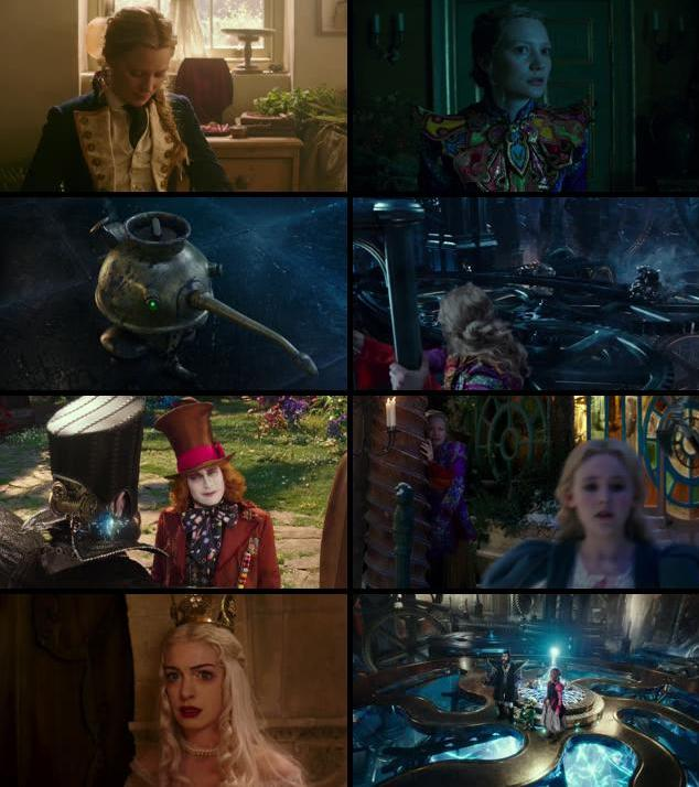 Alice Through the Looking Glass 2016 English 720p WEB-DL