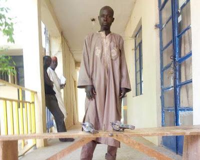 Man Who Supplies Guns To Rampaging Killers Nabbed