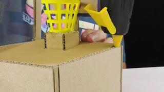 cara membuat sendiri mesin permen otomatis dari kardus