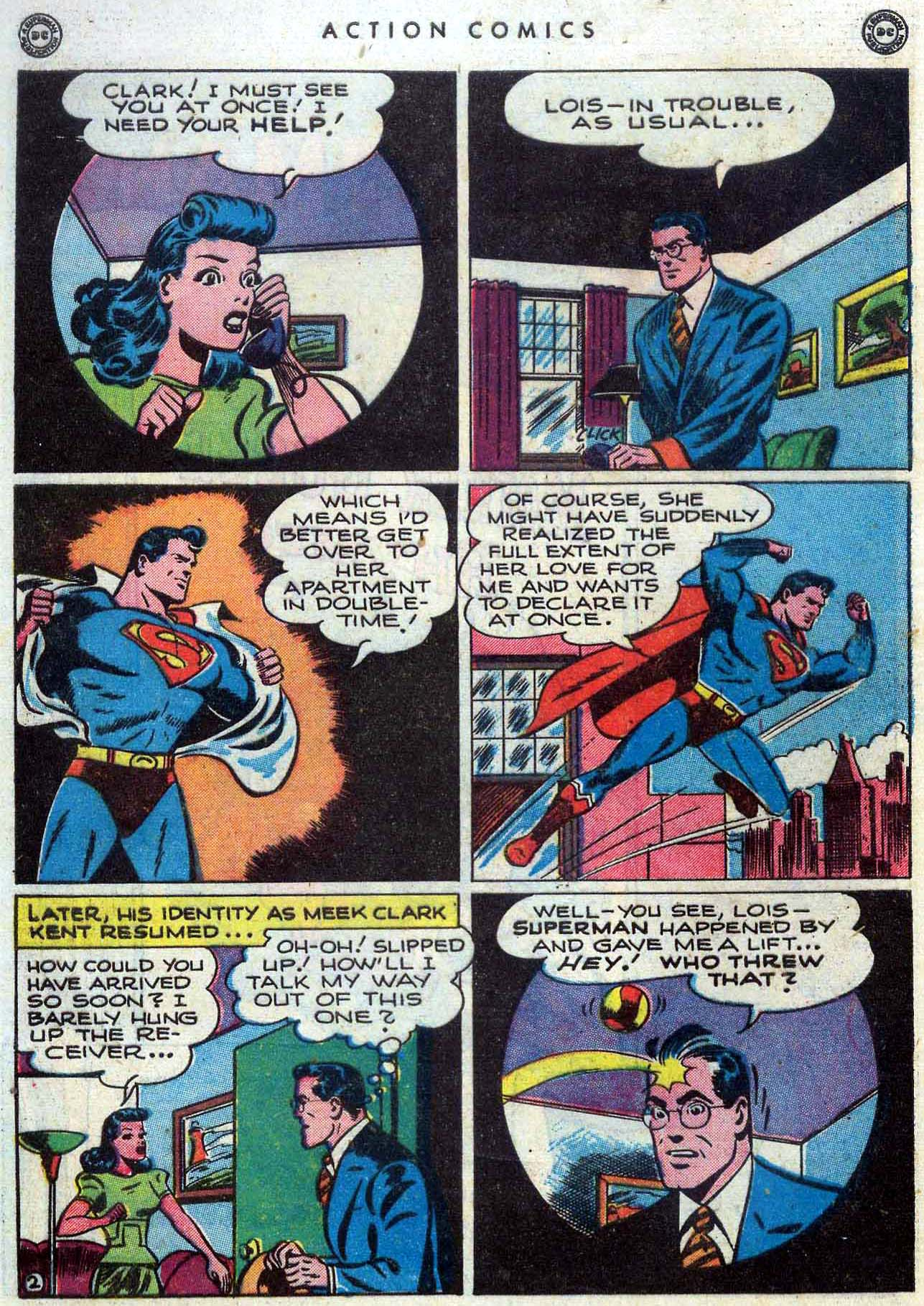 Read online Action Comics (1938) comic -  Issue #110 - 3