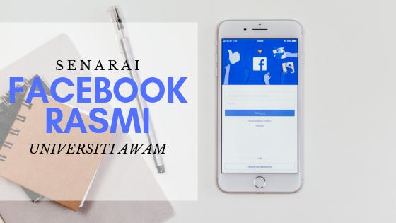 Senarai Facebook Rasmi Universiti Awam Malaysia