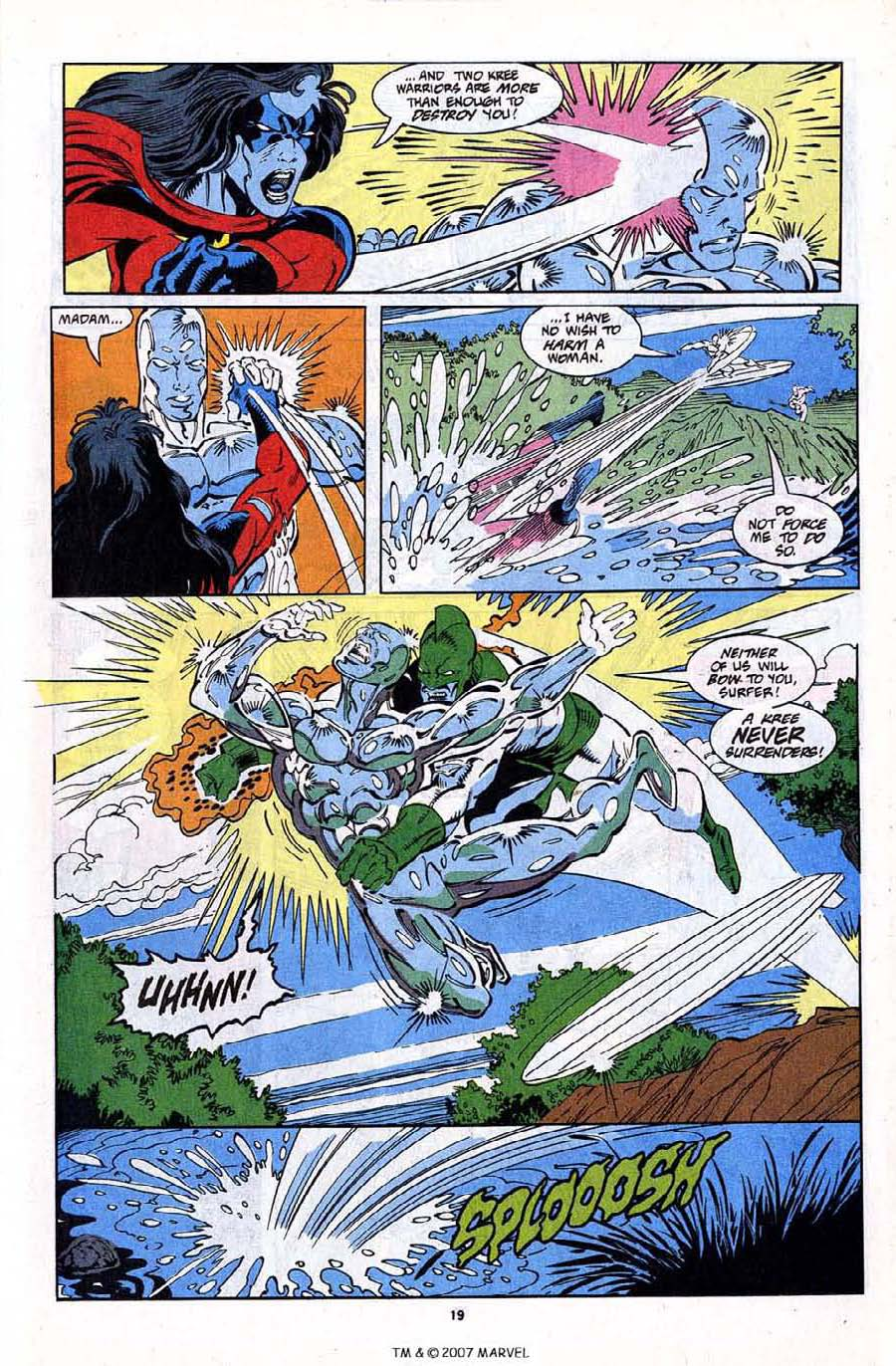 Read online Silver Surfer (1987) comic -  Issue #79 - 21