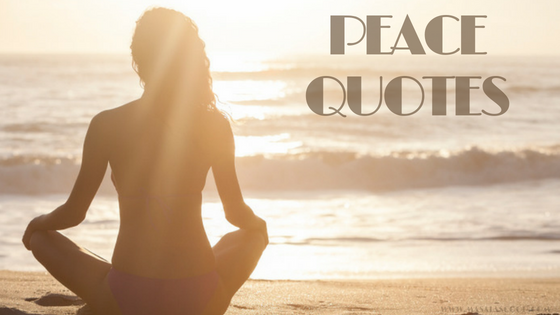 Peace Quotes ? Here comes the Sweetest of it all you have been waiting for.