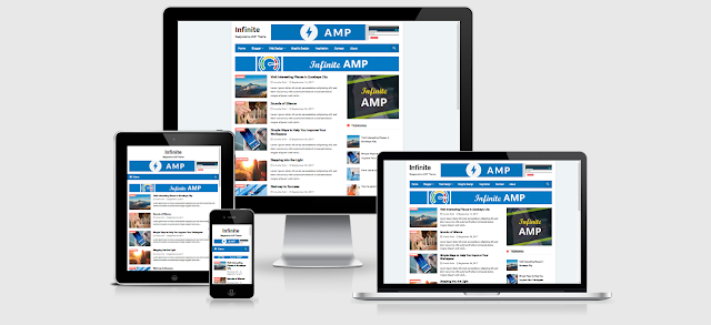 Infinite AMP template free download