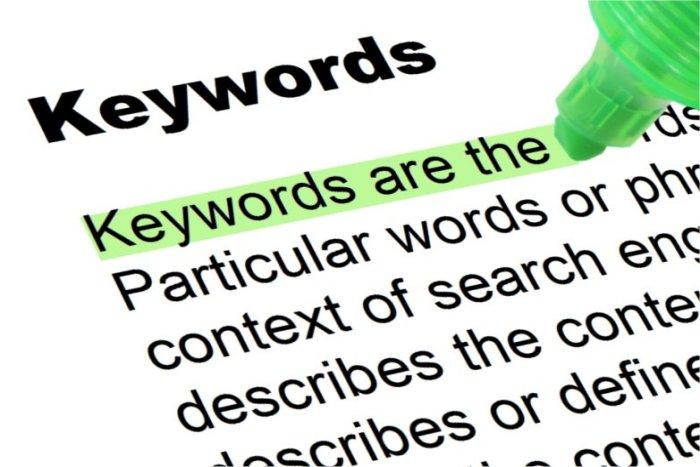 Pengertian Dasar Tentang Keyword