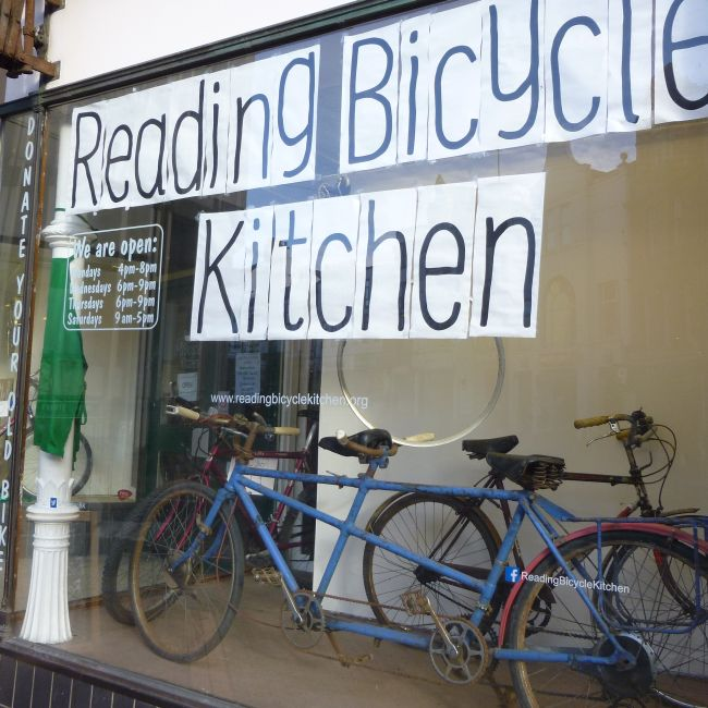 Bicycle Kitchen: Bugs And Fishes By Lupin: Two Very Different Kitchens