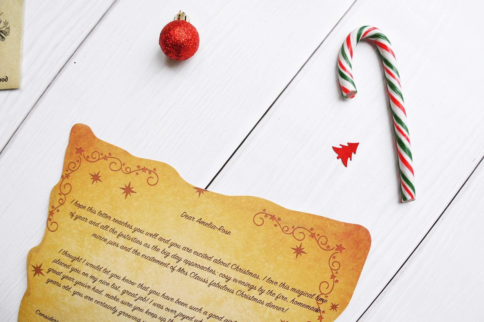 magic santa letter spreading a little magic this christmas