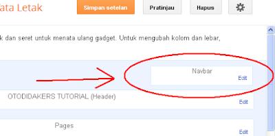Cara Menghilangkan Widget Navbar dan Attribution Pada Blog