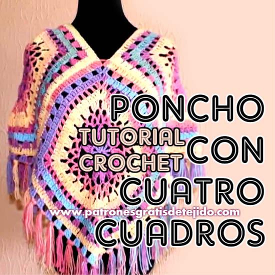 poncho-crochet-paso-a-paso