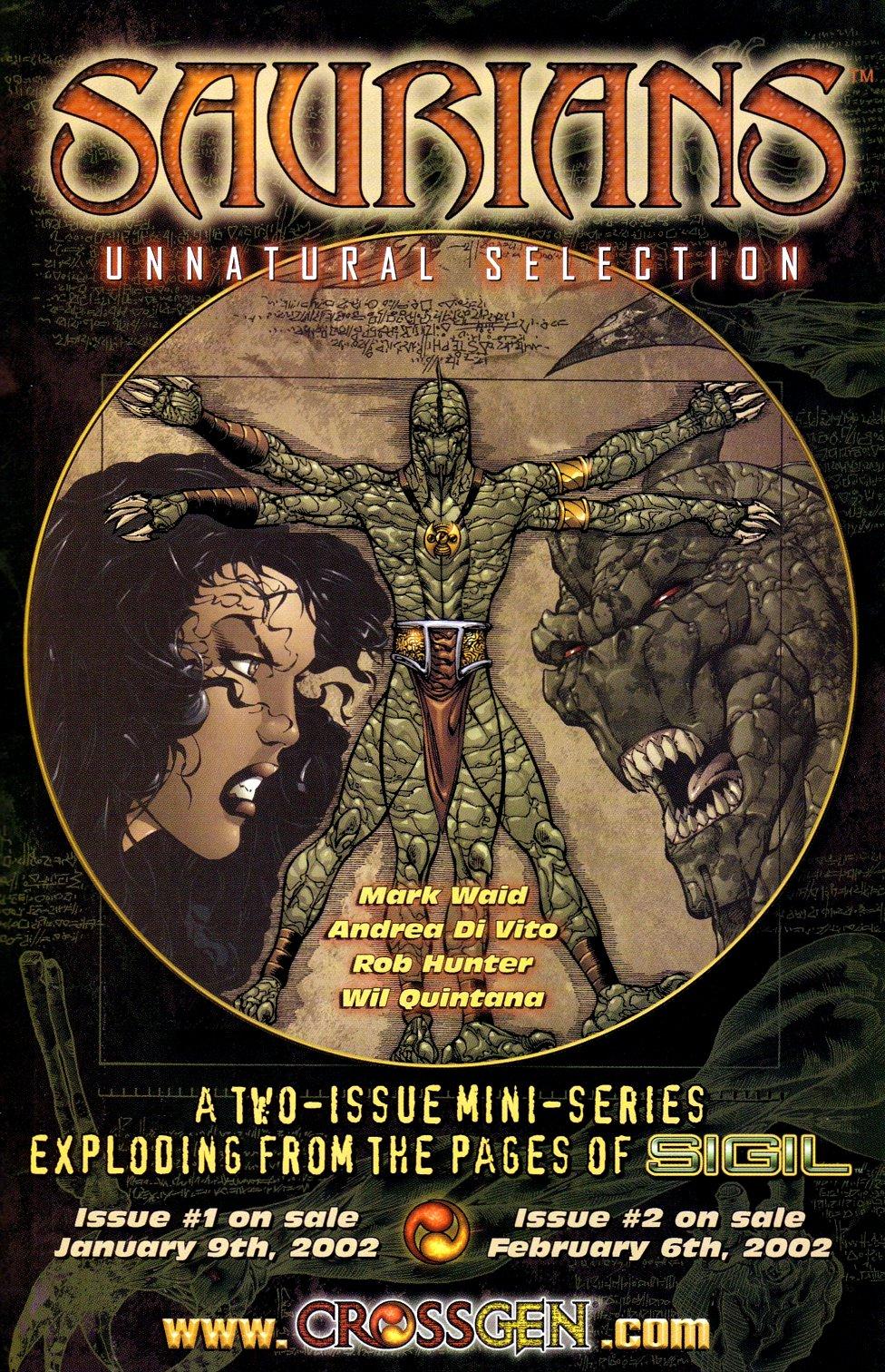 Read online Sigil (2000) comic -  Issue #18 - 27