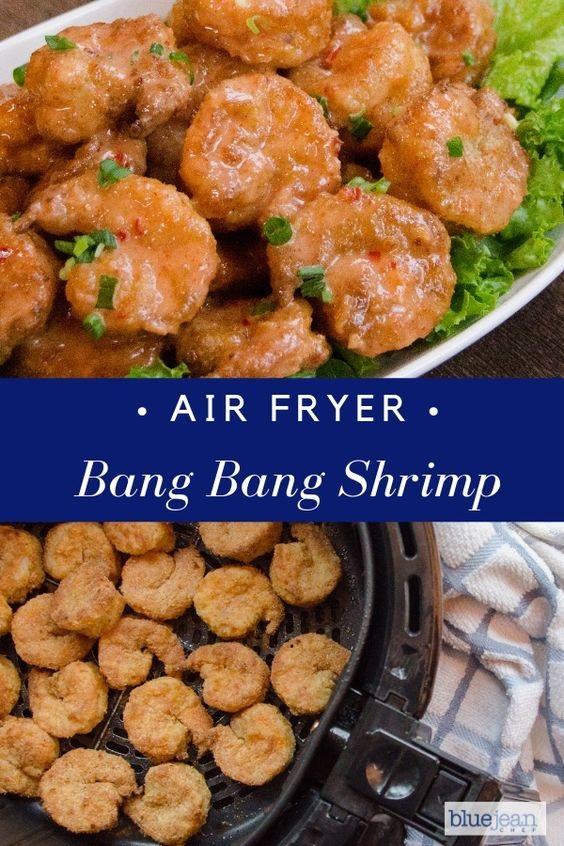 Air-Fried Bang Bang Shrimp