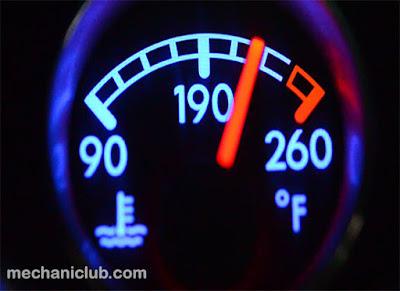 كيف تتصرف إذا إرتفعت حرارة المحرك ؟