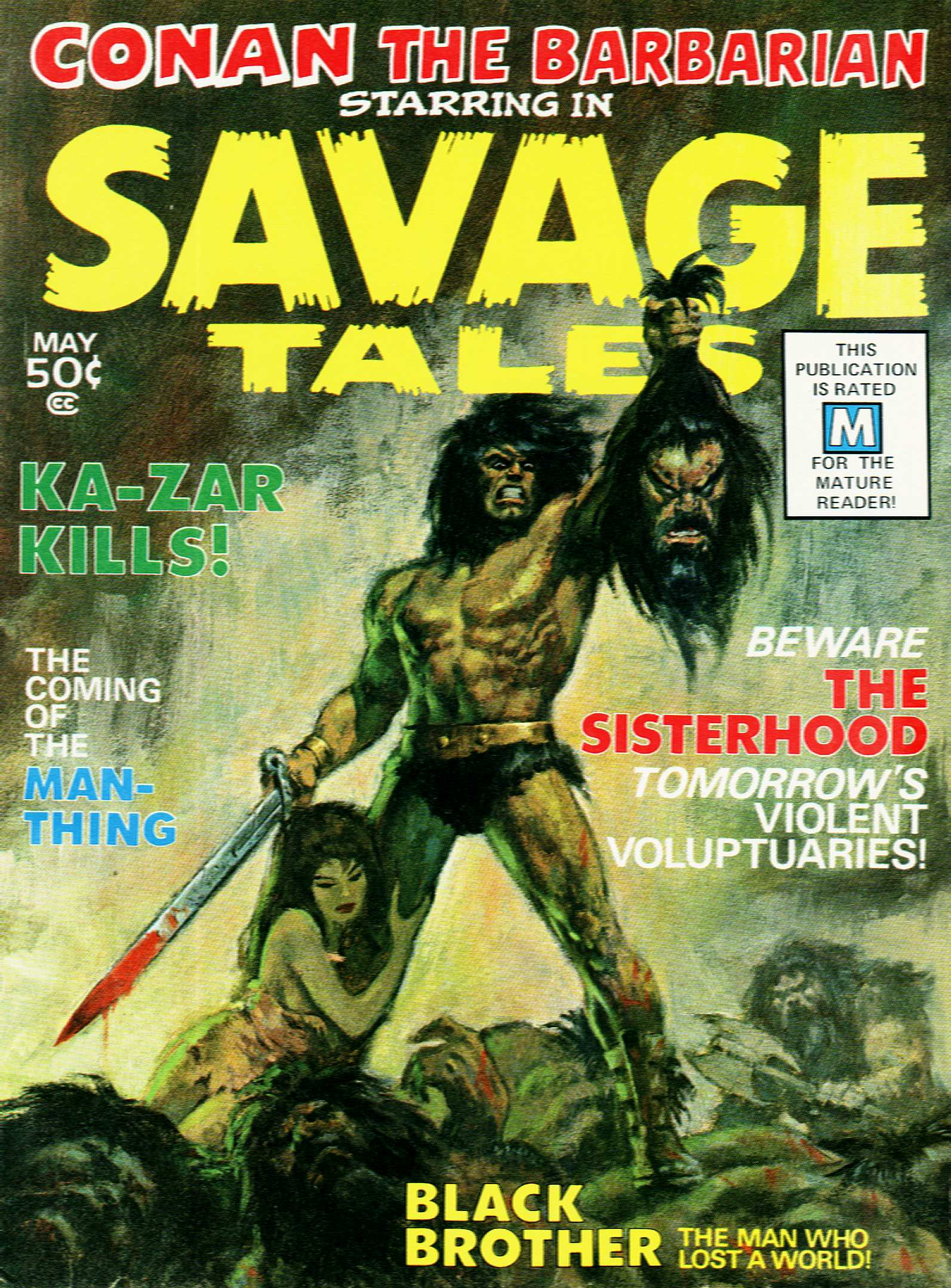 Savage Tales issue 1 - Page 1