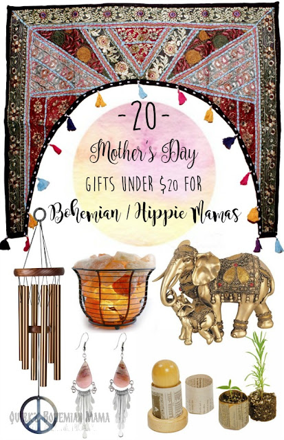 Hippie/bohemian mama. 20 Mother's Day Gifts Under $20 for Bohemian/Hippie Mamas, bohemian moms, hippie moms, mother's day gifts. boho gift shop gifts for bohemian lifestyle bohemian gifts for her boho gift ideas bohemian style gifts bohemian birthday gifts gifts for the hippie in your life gifts for a hippie mom hippie christmas list gifts for old hippies boho gift ideas bohemian gifts