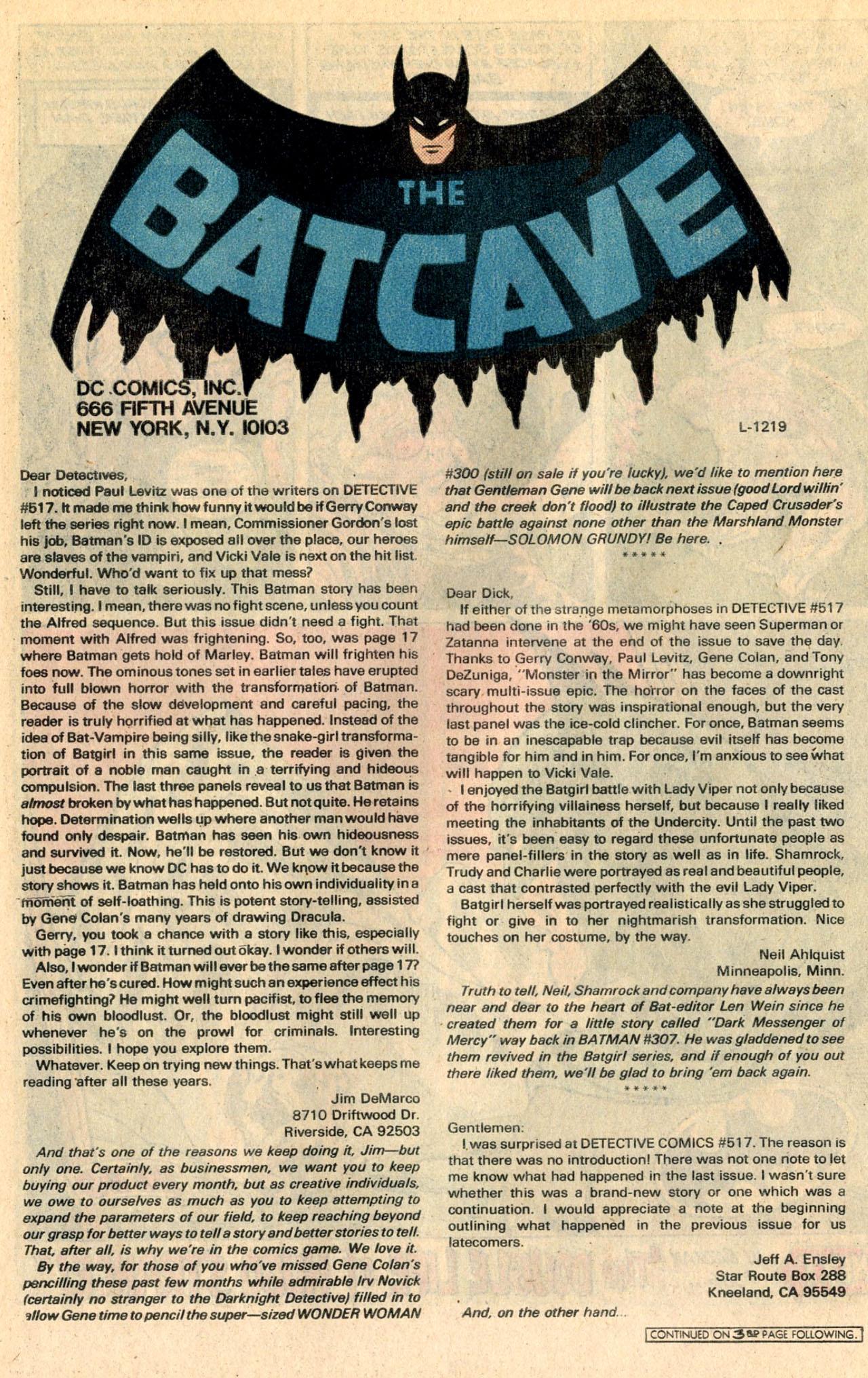 Detective Comics (1937) 522 Page 21