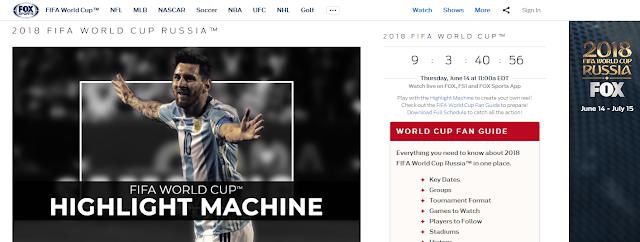 Как смотреть чемпионат мира по футболу 2018 с помощью SECRETVPN на FOX