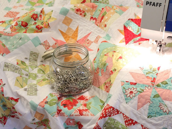 Chatelaine Free BOW Sampler Quilt - Quilting Facts