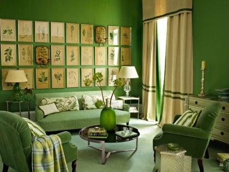Cat Warna Hijau Untuk Ruang Tamu