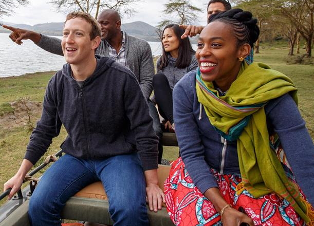mark zuckerberg wildlife park kenya